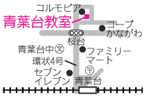 青葉台MAP